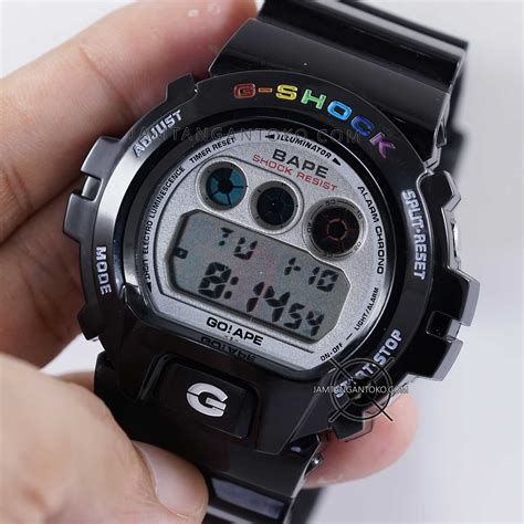 G Shock Dw6900 Cb Ori g shock ori bm dw 6900 bape limited edition black on
