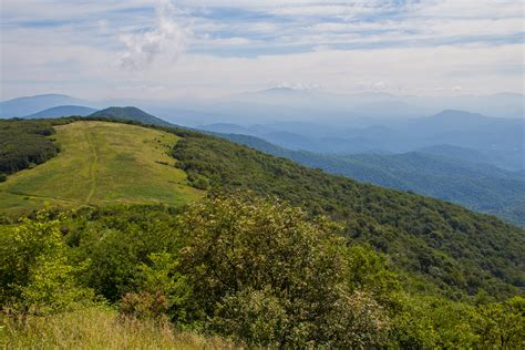 exploring the southern appalachian grassy balds a hiking guide books northeast of mars hill nc the big bald range straddles