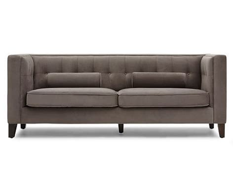 structube couch structube living room sofas loveseats havana grey