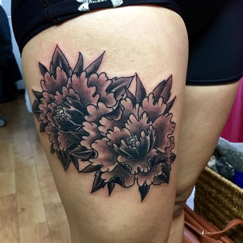 black gray tattoo designs 26 peony designs ideas design trends premium