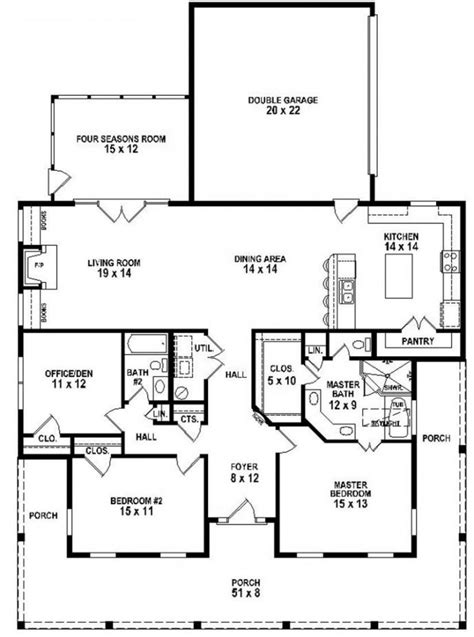 2 bedroom house plans with porches 2018 house plans and