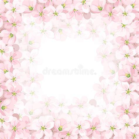115 u 209 as con flores u 209 as decoradas nail art fondo del vector con las flores rosadas de la manzana