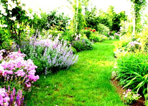 diy country garden landscaping design ideas with green trees and flowers homelk com