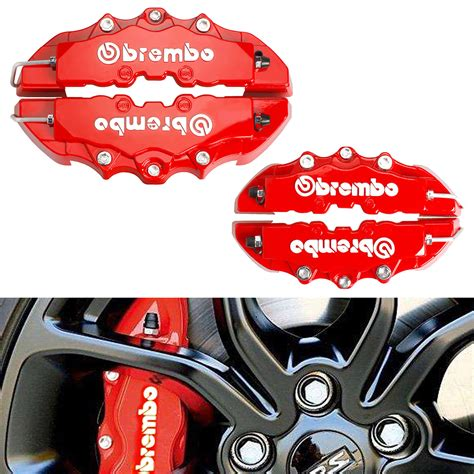 Cover Tromol Disc Brake 4x disc brake caliper covers parts tool front rear 3d
