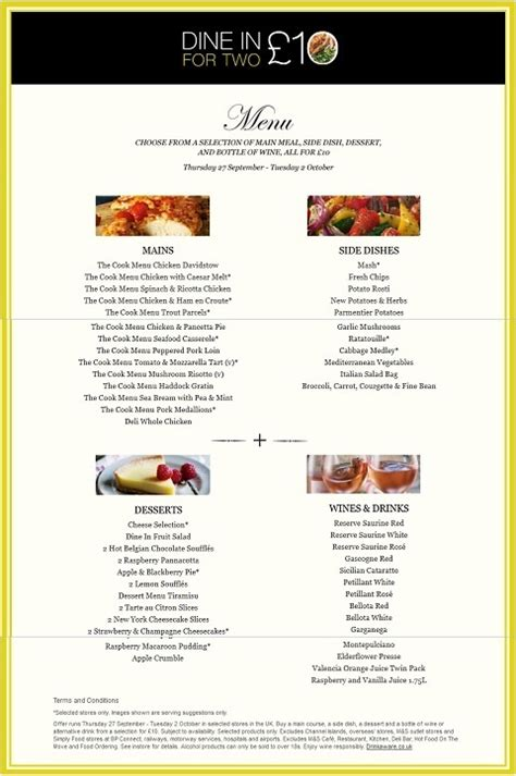 marks and spencer menu 52 best images about marks and spencer food i would like