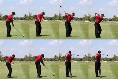 tigers golf swing must be sunday tiger woods number one player in history