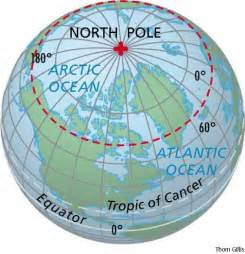 Map Of The World North Pole by Swallows And Amazons Tours