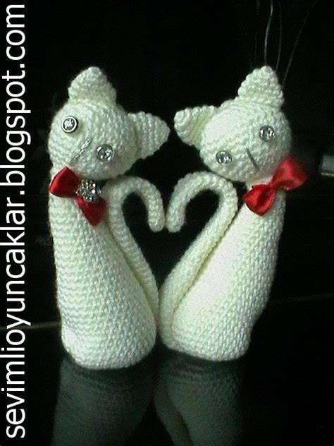 etsy cat pattern amigurumi valentine cats pattern