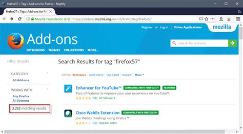 themes firefox add ons firefox add ons webextensions state july 2017 ghacks