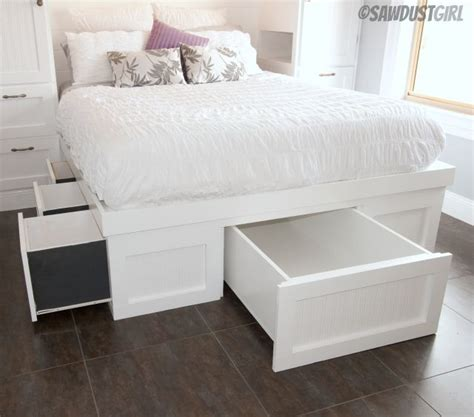 Built In Bedroom Furniture Diy Built In Wardrobes And Platform Storage Bed The Sawdust Diaries Fashion