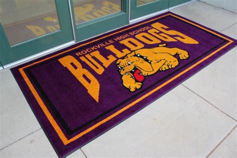 Floor Mat With Logo by Jet Print School Logo Mats Are School Logo Floor Mats By