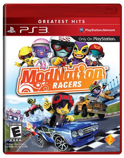 Cd Modnation Racers modnation racers has greatest hits playstationtrophies org