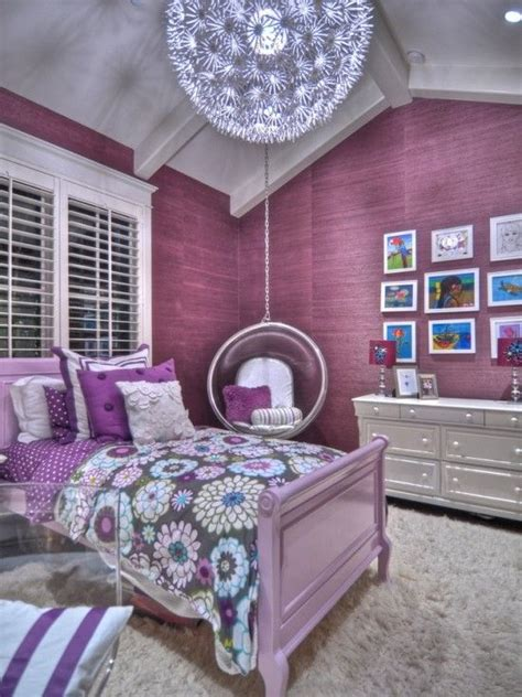 purple room design super cute   big girl room