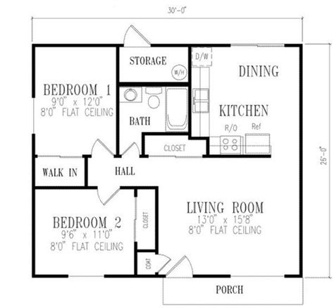 1000 sq ft house plans 2 bedroom 2 bedroom house plans 1000 square feet 781 square feet 2 bedrooms 1 batrooms on 1