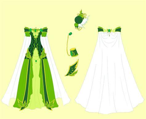 design clothes girl emerald dress design by eranthe deviantart com on