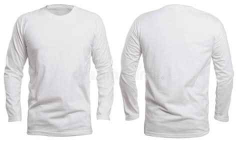 Longsleevetop Whitegrey 15325 white sleeve shirt mock up stock image image of front 94830633
