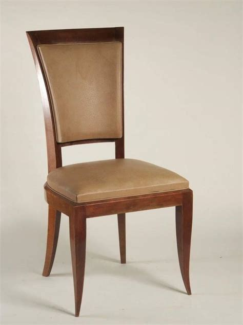1940s Dining Room Furniture 1940s Set Of Eight High Back Dining Chairs For Sale At 1stdibs