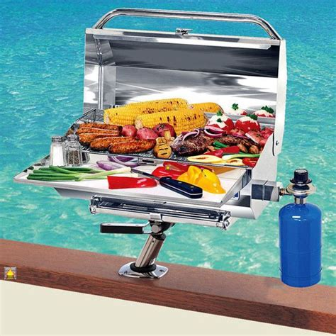 best pontoon boat grill best boat grill reviews pick the best portable gas grill