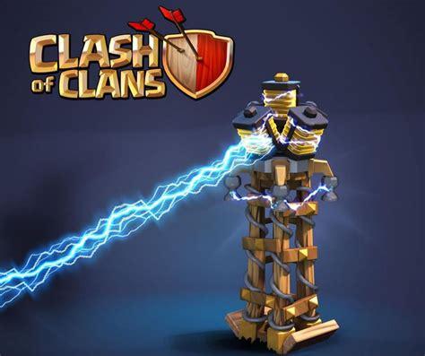 Teslas Coc Clash Of Clans Sneak Peek Teases Tesla Level 8