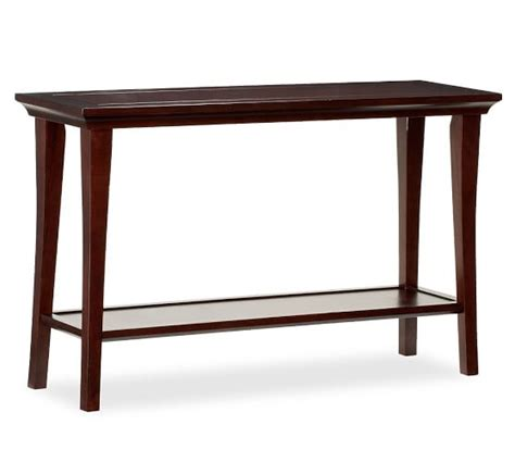 pottery barn sofa table metropolitan console table pottery barn