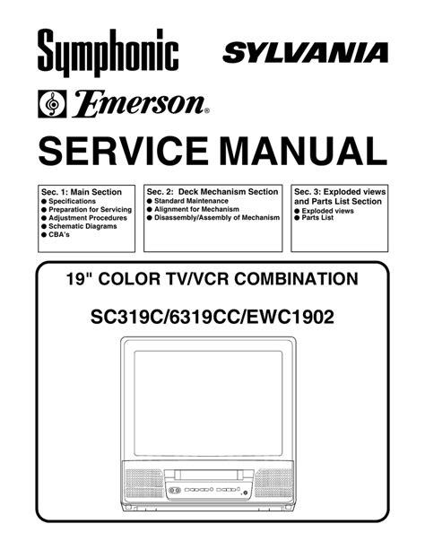 Panasonic Hair Dryer Vancouver emerson ewc1902 service manual