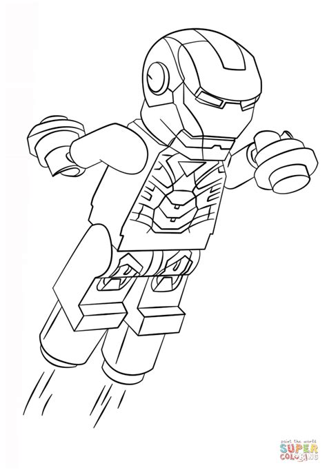 lego iron man coloring pages just colorings