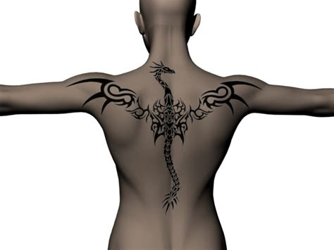 dragon wing tattoo back tattoos wings popular ideas