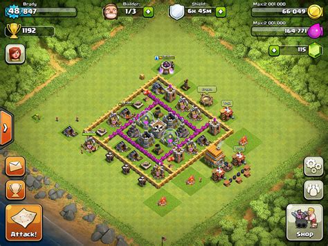 clash of clans strategy level 7 farming base design town hall clash of clans hacks and tips farming bases