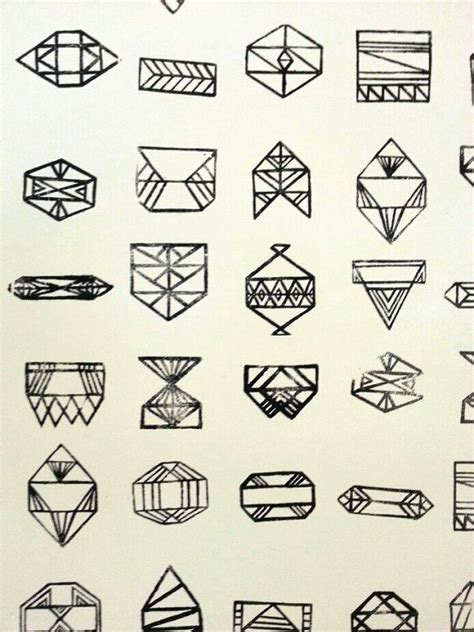 simple geometric tattoos geometric tattoos geometric