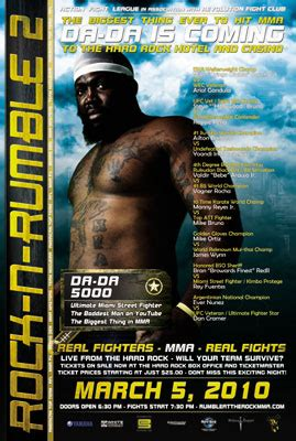 dada 5000 bench press da da 5000 makes his mma debut on march 5th vs cedric
