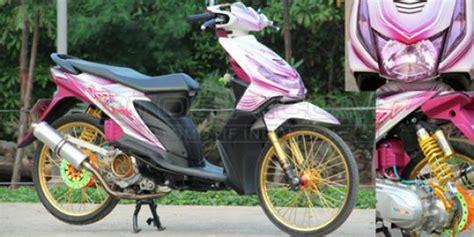 modifikasi motor vespa warna pink modifikasi honda beat grafis minimalis dengan laburan
