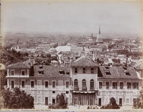 panorama casa torino brogi torino panorama della villa della 1890 ca