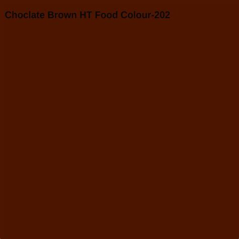 chocolate color choclate brown ht food colour view specifications