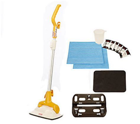 haan floor steamer and sanitizer w 2 microfiber pads