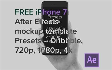 50 Iphone 7 Mockup Designs 187 Css Author Iphone 6 After Effects Template Free