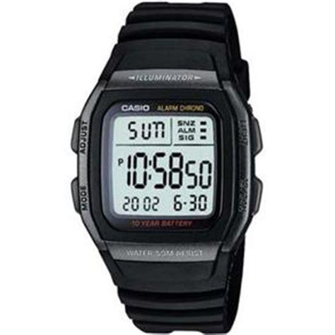 Jam Tangan H Mes H10 1 rel 243 gio masculino digital casio standard w 96h 1bv preto