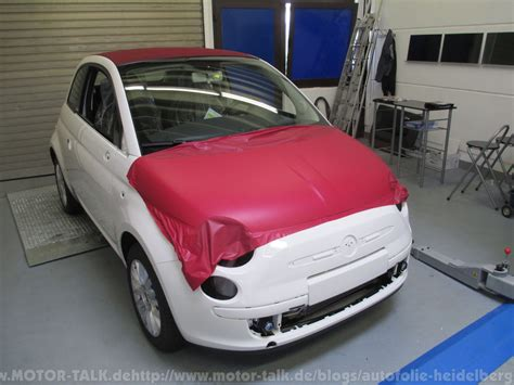 Autofolie Schwarz Rot Gold by Fiat Wm Folierung In Schwarz Rot Gold 2 Folierung Car