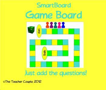 Smartboard Game Board Template By The Teacher Couple Tpt Smartboard Templates