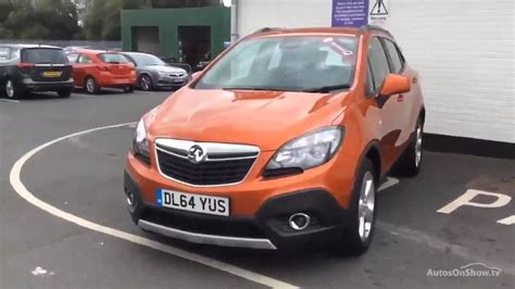 vauxhall orange vauxhall mokka tech line cdti s s orange 2015