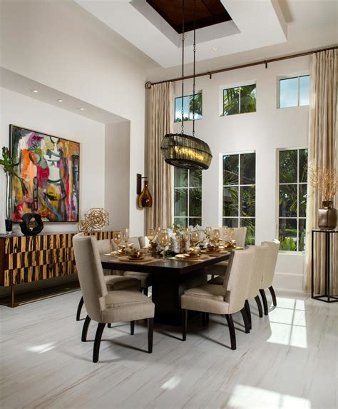 gorgeous mediterranean dining room designs