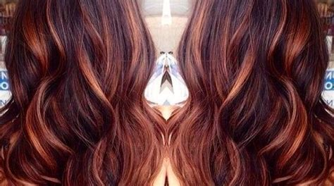 how to make your lowlights fade dark brown hair with caramel highlights and red lowlights