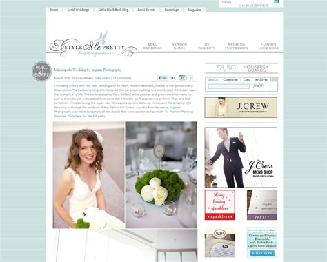Wedding Blogs by Favorite Wedding Websites Chicago Wedding