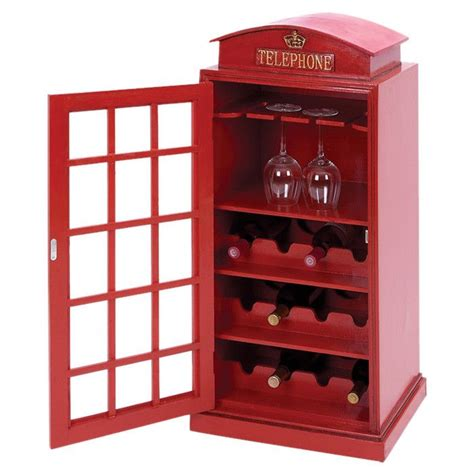 london phone booth cabinet wine racks phones and london on pinterest