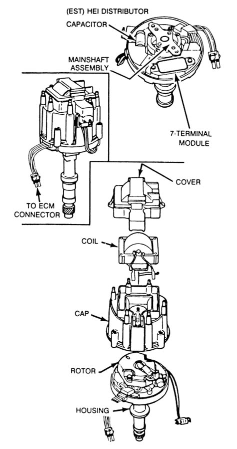 chevy 350 basic carb engine wiring diagram