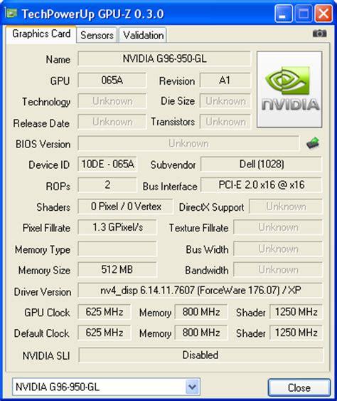 nvidia quadro fx 1700m notebookcheck.net tech