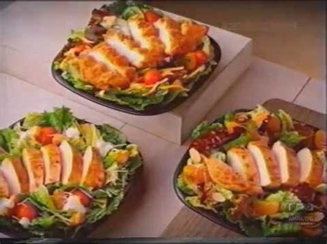 Grilled Chicken Salad Mcdonalds Vs Wendys by Wendy S Grilled Chicken Salads Television Commercial