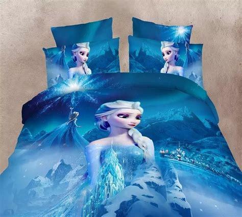 elsa bed blue color frozen elsa bedding set girl s children s