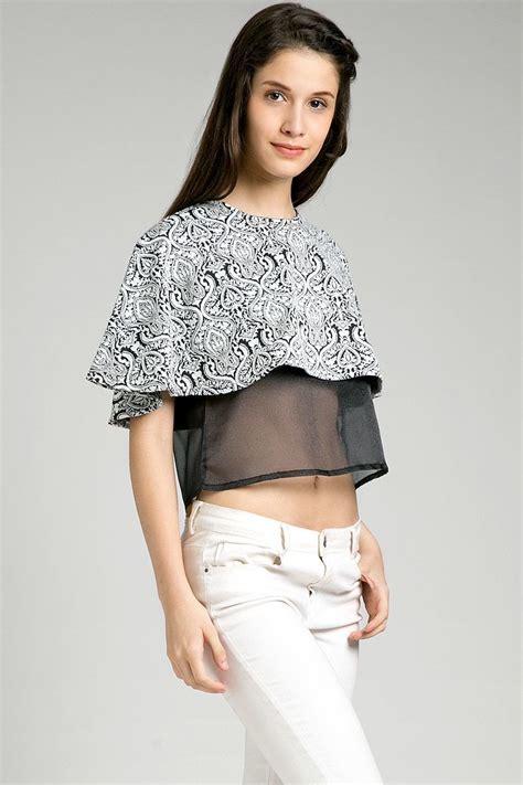Swag Crop Black Baju Atasan Wanita Top Sweater Murah Terbaru sell fins stra crop top blouse berrybenka