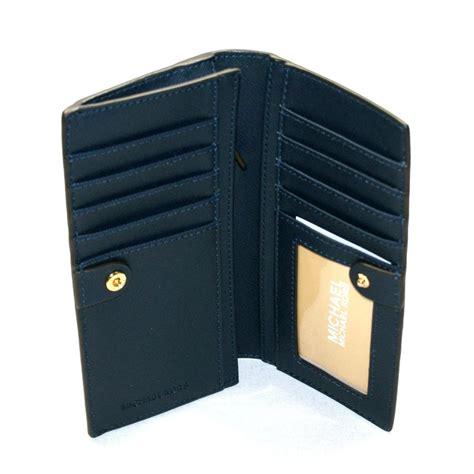 michael kors jet set travel leather slim wallet clutch
