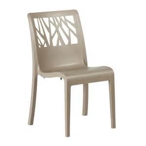 chaise de jardin vegetal grosfillex